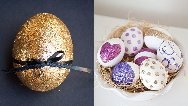 Húsvét 2015: Csillogó tojások