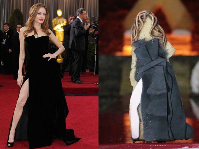 Angelina Jolie, Versace, 2012