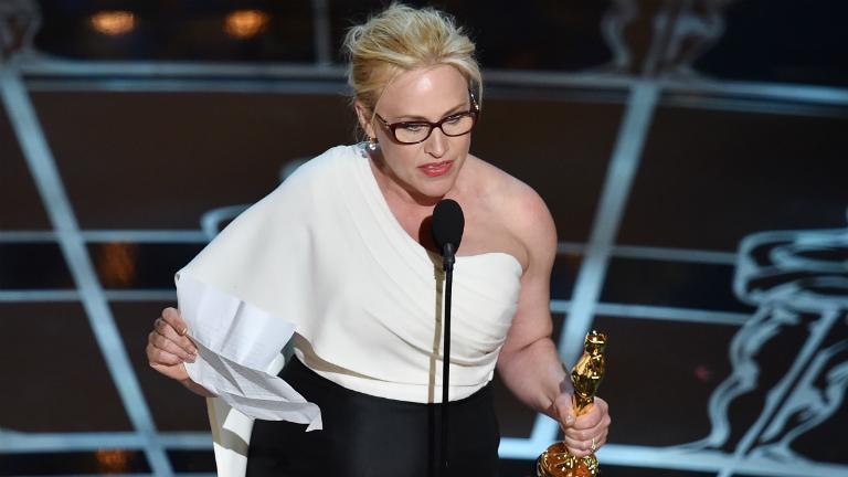 Köszönet Patricia Arquette-nek, hogy felrobbantotta a netet