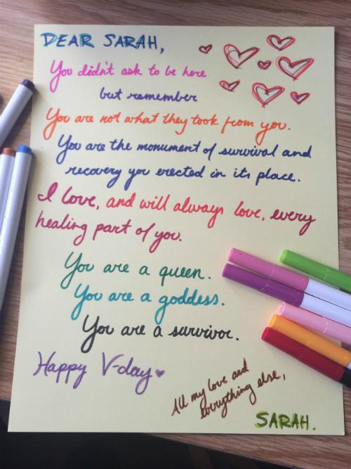 Szerelmes levelek a szexuális erőszak áldozatainak