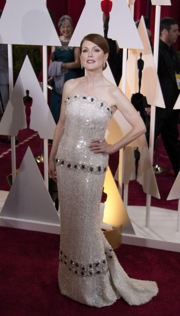 Julianne Moore a 87. Oscar-gálán
