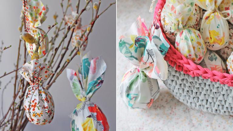 Tojásfestés helyett: csomagolt húsvéti tojások