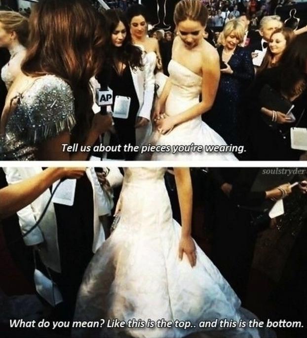 - Mit kell tudni a ruháról, amit viselsz? -Mármint hogy érted? Ez az felsőrésze, ez pedig az alja