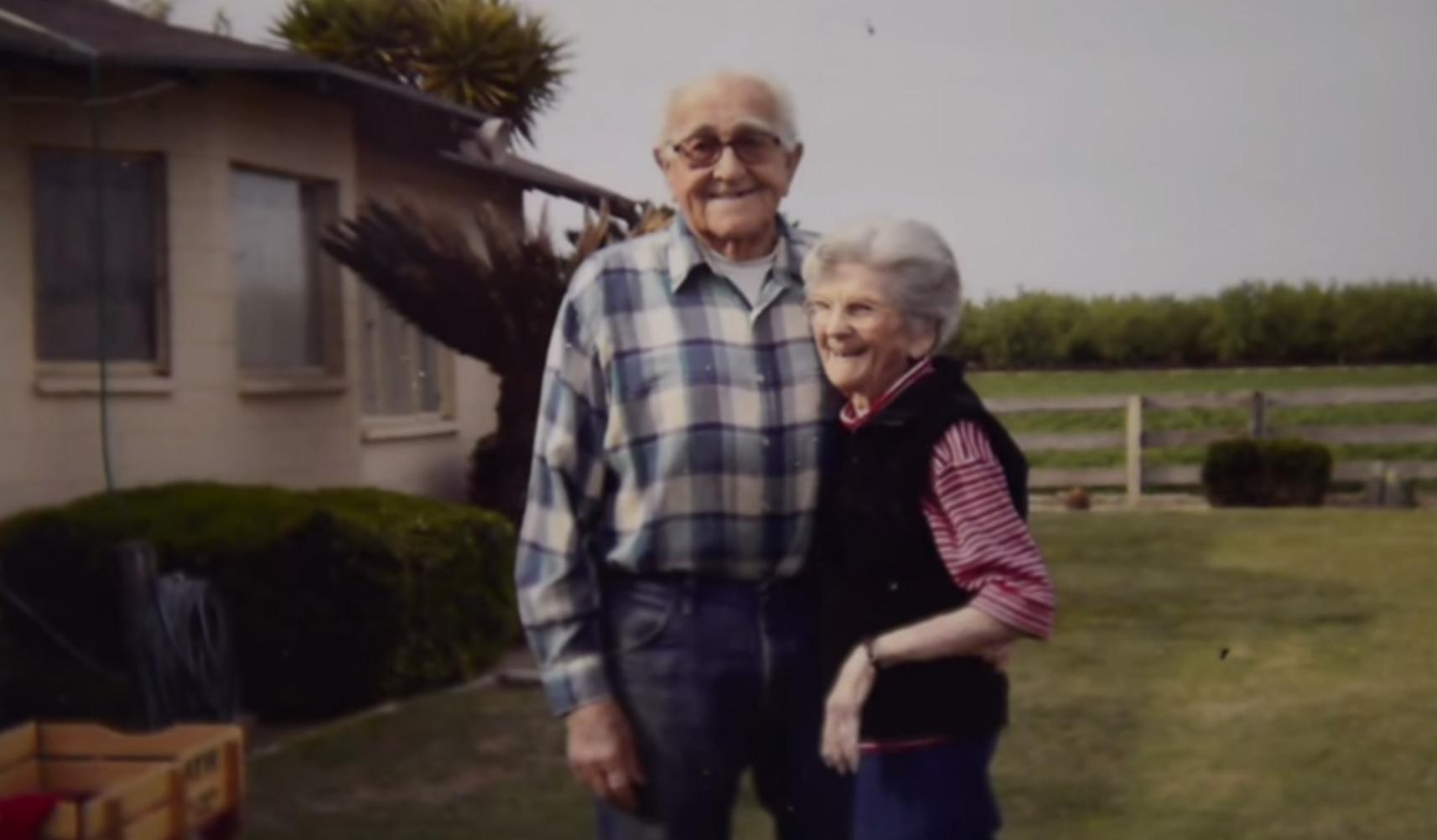 67 év házasság után együtt haltak meg a szerelmesek
