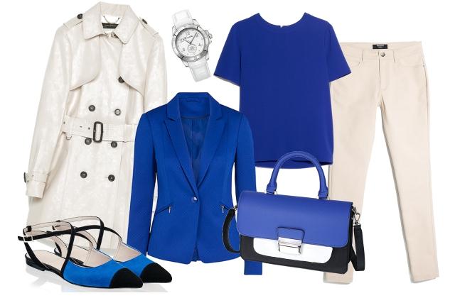 Kabát: Zara, top, nadrág: Mango, blézer: F&F, táska, cipő: Humanic, óra: Thomas Sabo