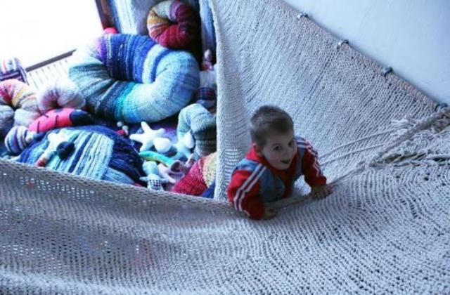 Kinőtt ruhákból otthoni játszótér - ez sem lehetetlen