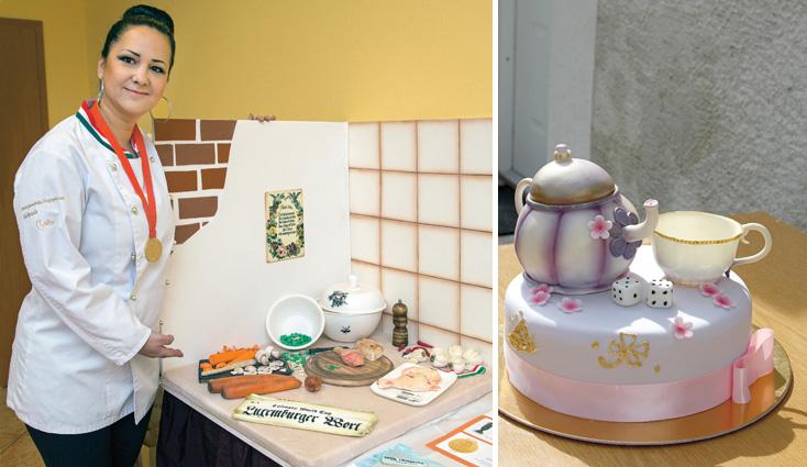 A gyerekeinek készítette az első tortákat, aztán cukrászvilágbajnok lett a komáromi anyuka