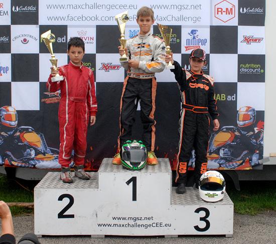 Egész Európa ismeri a pöttöm magyar gokart bajnok gyerekeket