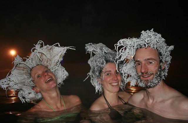 Hajfagyasztó versenyt rendeztek Kanadában - fotók