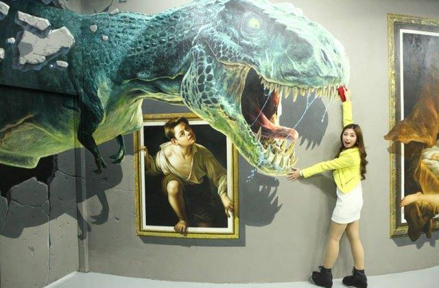 Életre keltek képek a 3D-s múzeumban