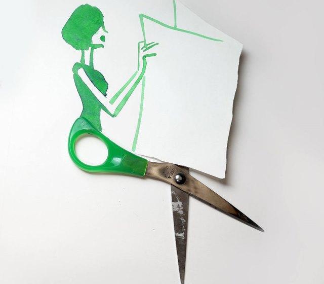 Elképesztően kreatív rajzokat készít egy művész