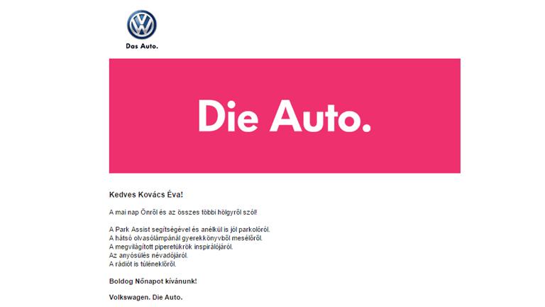 A Volkswagennél folytatódik a nőnap, szerdáig még játszhatsz a romantikus vacsoráért!
