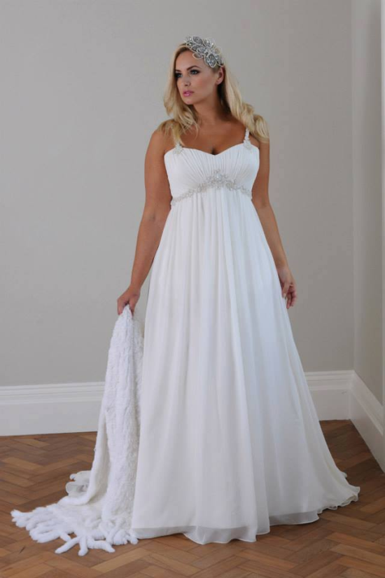 7622bfddc4 10 tanács a tökéletes plus size esküvői ruha kiválasztásához