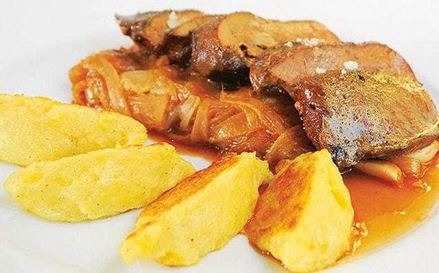 Gyors ebéd: borjúmáj burgonyagaluskával