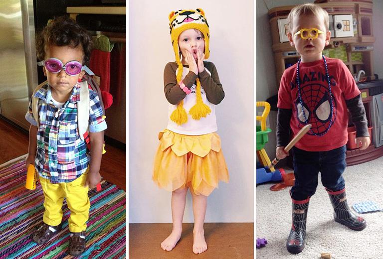 Harisnyahiszti kontra Pókember-láz - így divatoznak a gyerekek