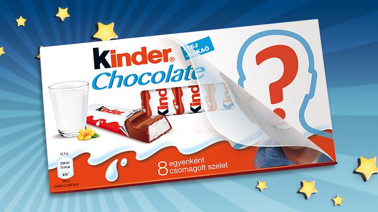 Kik lesznek a Kinder csokoládé új Édes Arcai?