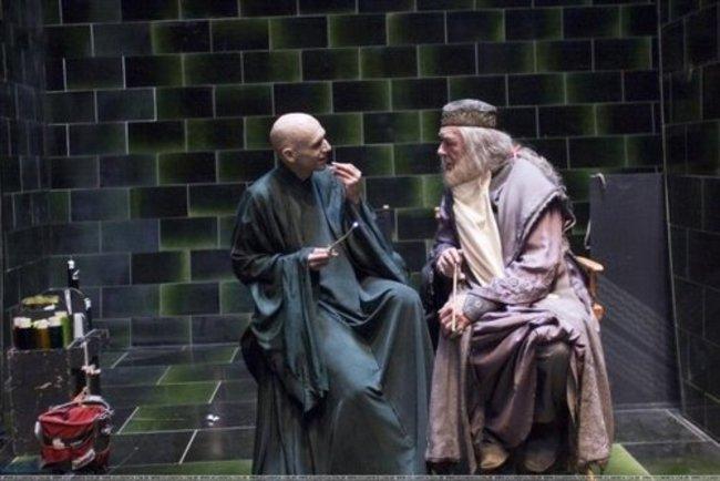 Voldemort és Dumbledor, a két jó barát