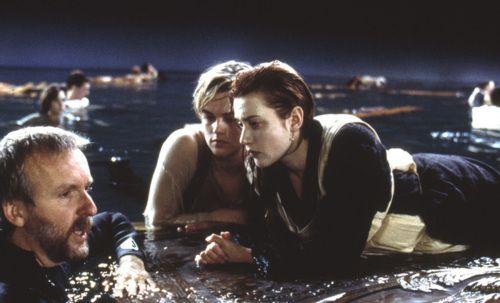 Leonardo DiCaprio és Kate Winslet mielőtt Jack Dawson megfagyott volna