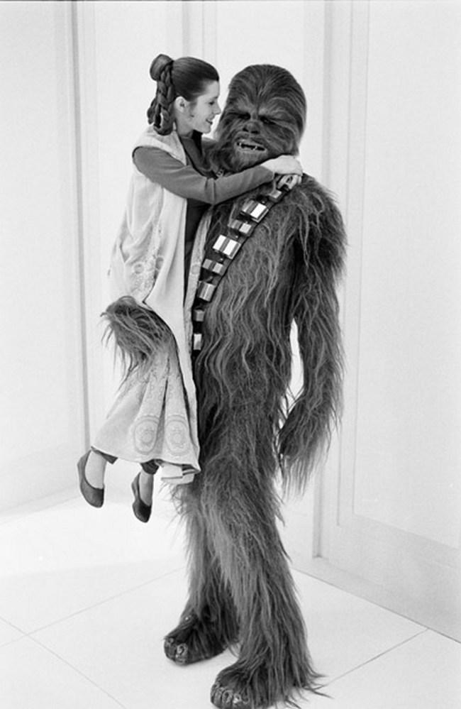 Leia hercegnő és Csubakka