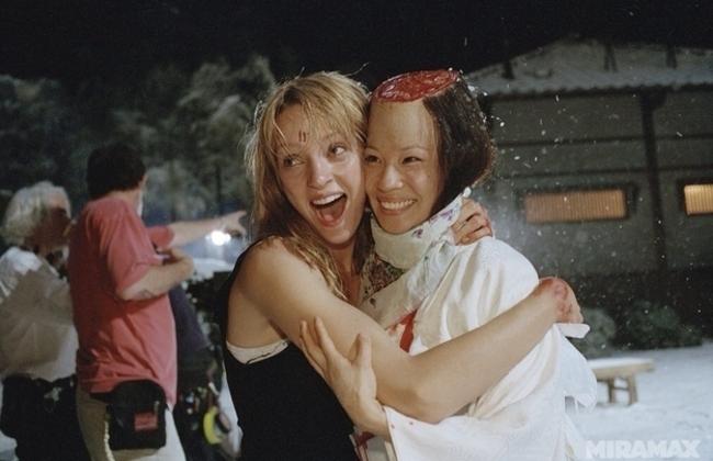 Uma Thurman Lucy Liu megskalpolása után