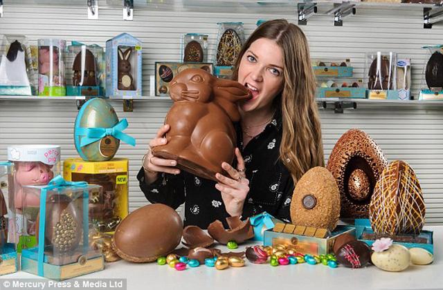 Csokievéssel keres pénzt