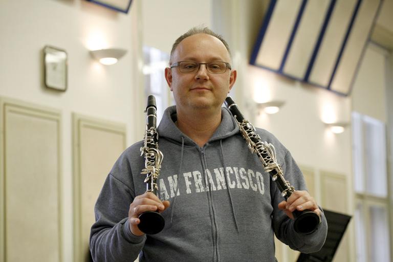 Ács Ákos klarinét-művész