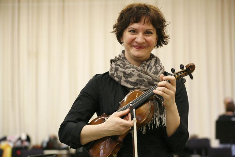 Illési Erika hegedűművész