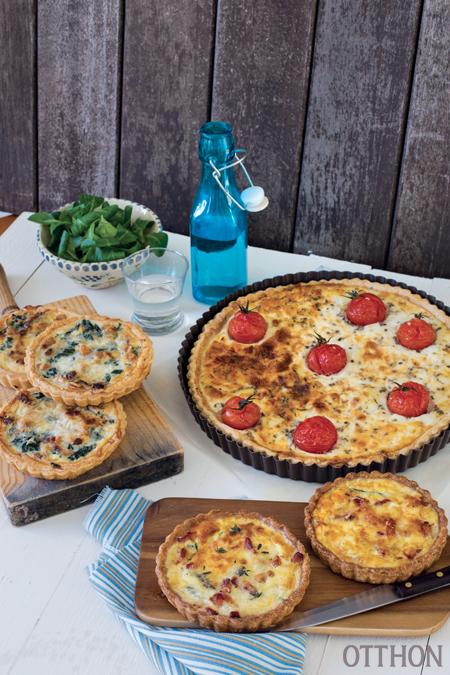 Gyors és tavaszias: variációk a franciák pitéjére