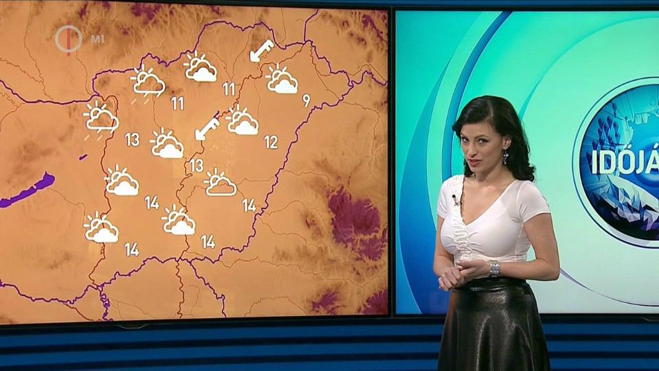 Tessék már előnyösen felöltöztetni az időjárás-jelentőt!