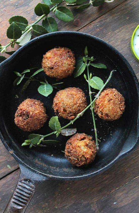 Gyors vacsora: zöldségfasírt