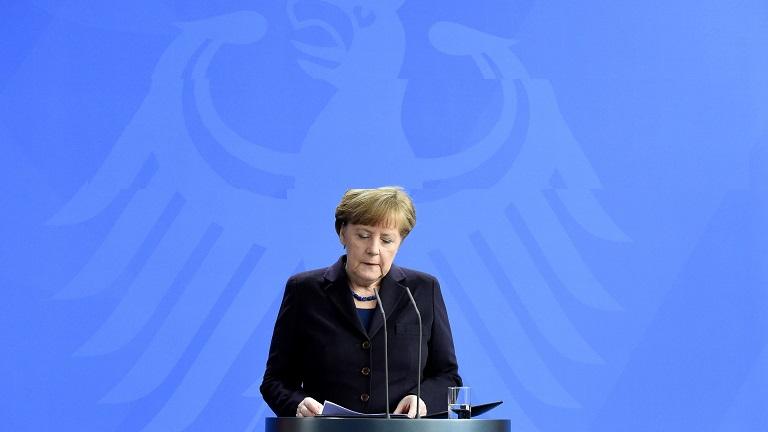 Angela Merkel (Fotó: AFP)