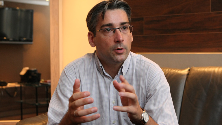 Azurák Csaba a TV2 Aktuális műsorainak főszerkesztője