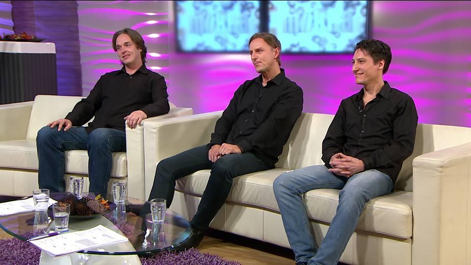Ács Bálint, Csordás Levente és Gajdos Attila Fotó: Mokka Facebook oldala