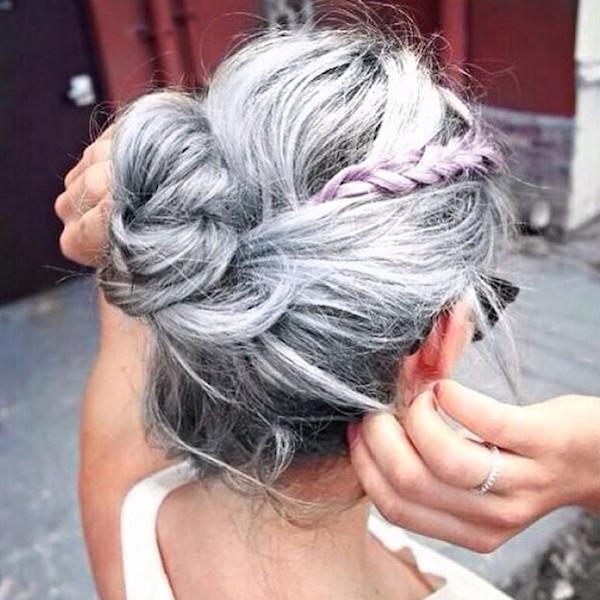 Már megint divat az ősz haj