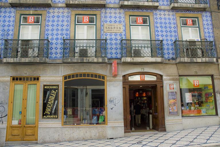 A Bertrand könyvesbolt