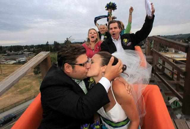 Íme a 17 legextrémebb esküvői helyszín
