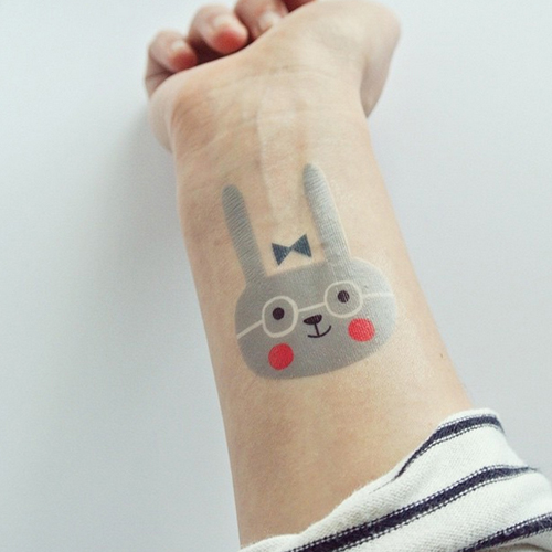 12 kreatív lemosható tetoválás