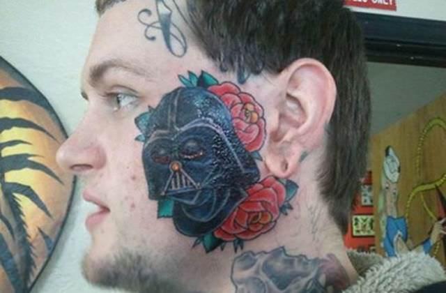 Darth Vader és virágok?