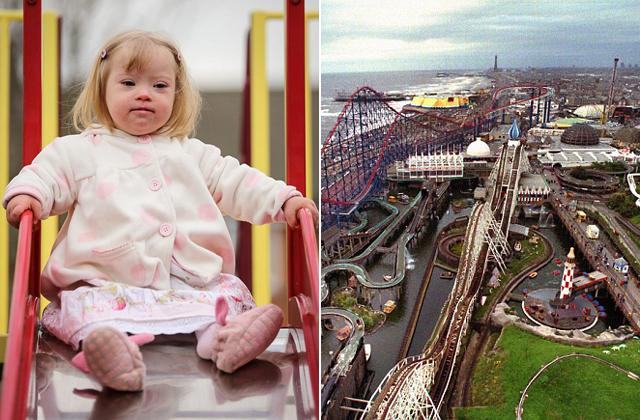 Nem engedték felülni a játékokra a Down-kóros kislányt a vidámparkban