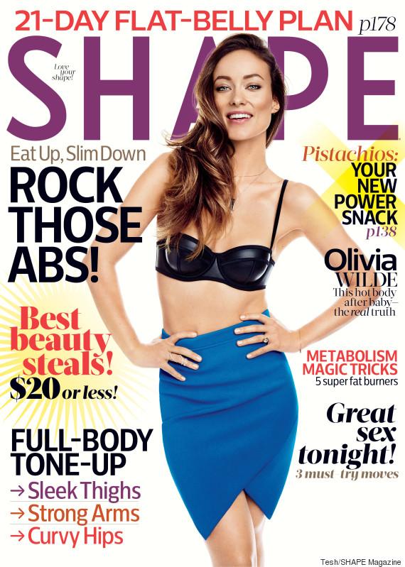 Szülés utáni test - Olivia Wilde photoshopolva próbál egy lenni közülünk