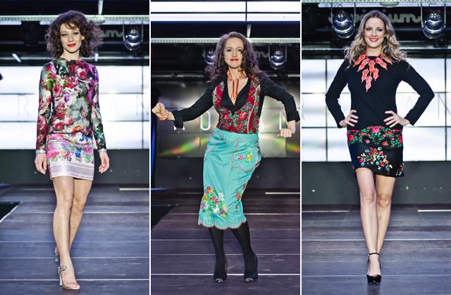 Ismert magyar színésznők mutatták be a roma divatkollekciót - fotók