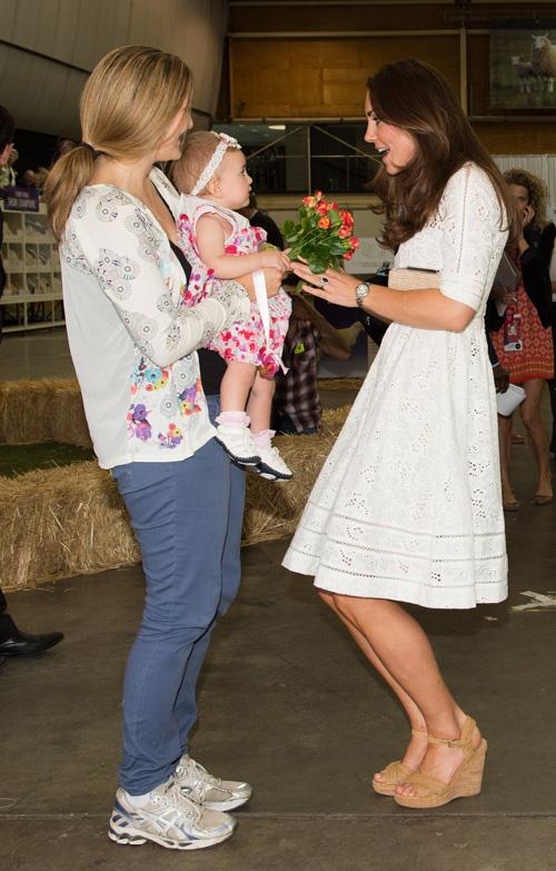 10 tündéri pillanat, amiért drukkolunk, hogy Katalin hercegnének lánya szülessen - fotók
