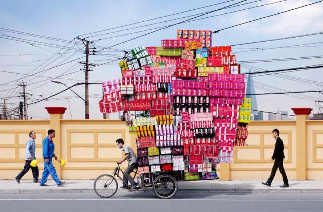 Sanghaj utcáin