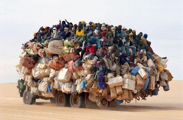 Ez is valahol a Szaharában
