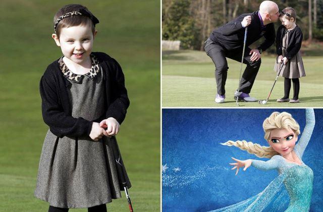 A Disney-hercegnők gyógyították meg a rákos kislányt