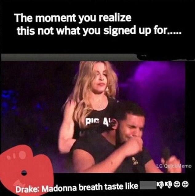 Madonna csókja mém-cunamit indított - fotók