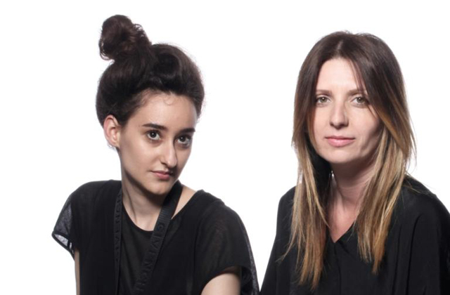 Garam Judit és Kovács Adél, a NUBU tervezői