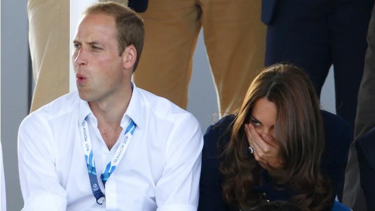 Mit nekik angol hidegvér - Vilmos és Katalin hercegné hokimeccsen-