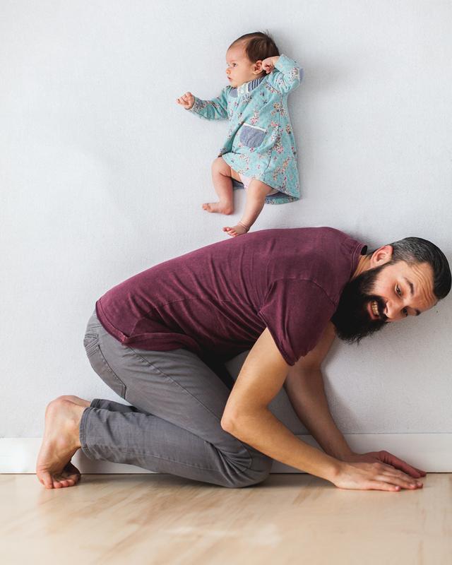 Tündéri és kreatív fotókat készítettek babájukról a szülők - galéria