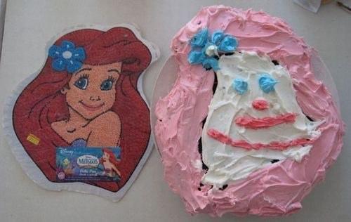 17 nagyon elrontott Disney-torta